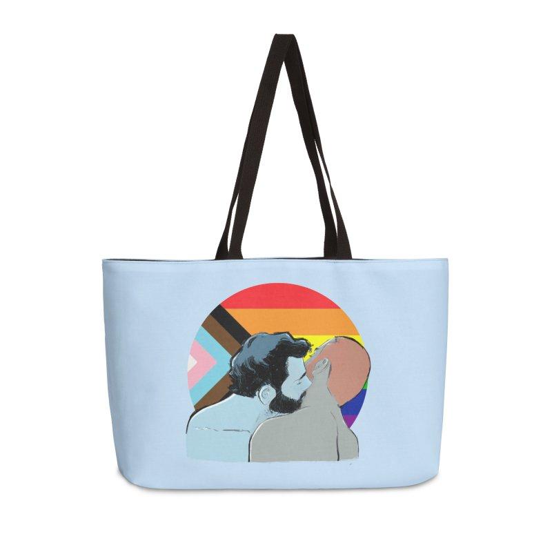 Love Pride Accessories Weekender Bag Bag by Ego Rodriguez