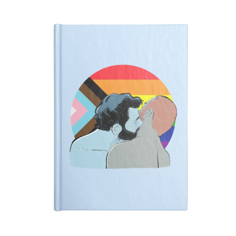Love Pride Accessories Lined Journal Notebook by Ego Rodriguez