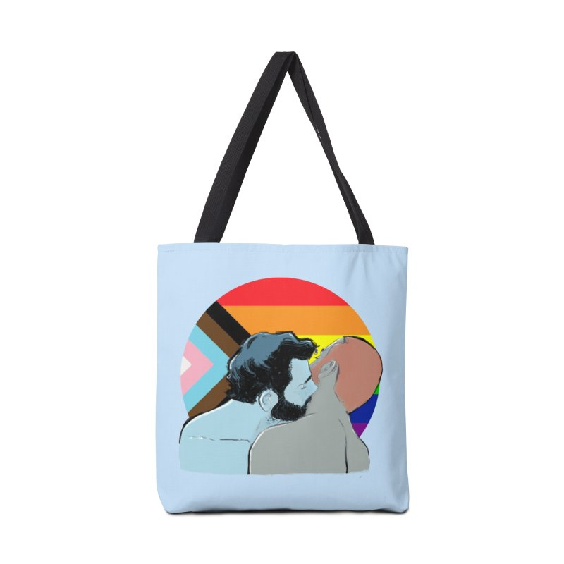 Love Pride Accessories Tote Bag Bag by Ego Rodriguez