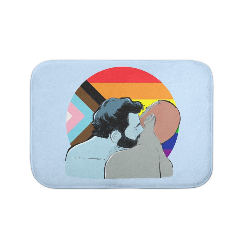 Love Pride Home Bath Mat by Ego Rodriguez