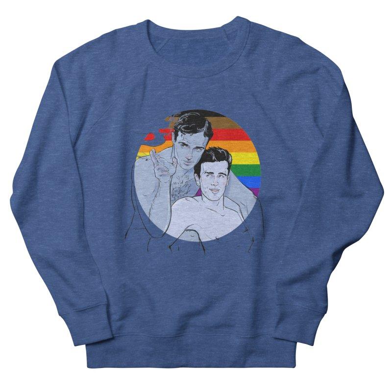 Dean + Brando Pride Men's Sweatshirt by Ego Rodriguez