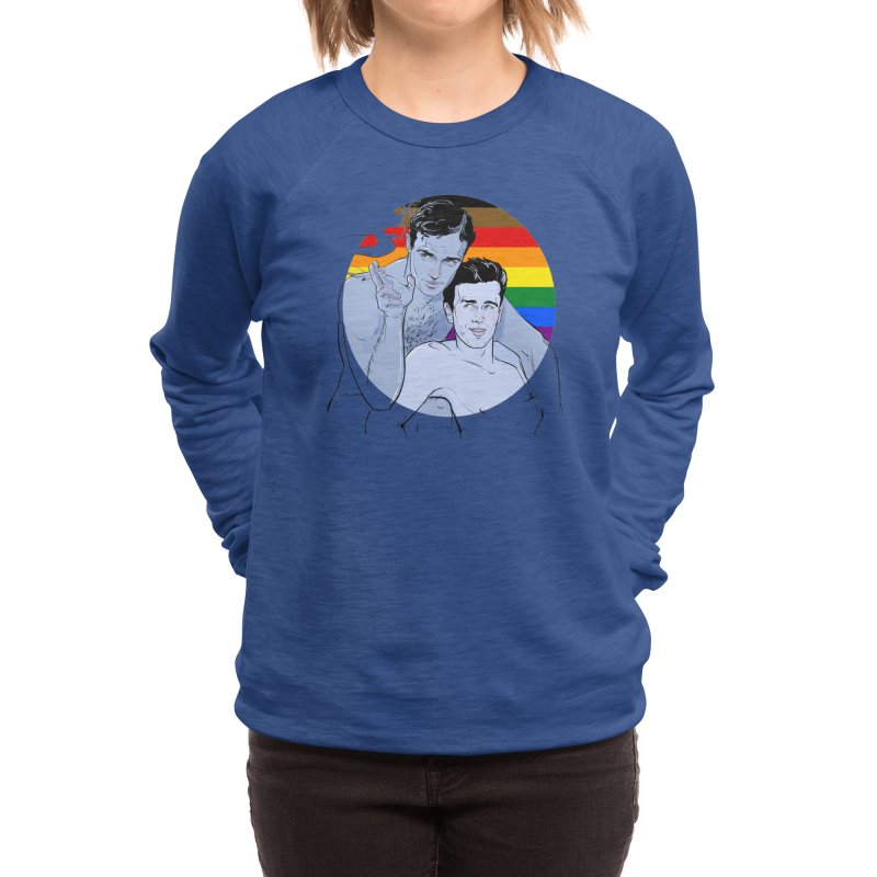 Dean + Brando Pride Women's Sweatshirt by Ego Rodriguez