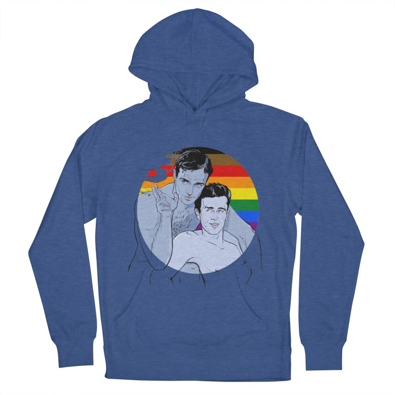 Dean + Brando Pride Women's French Terry Pullover Hoody by Ego Rodriguez