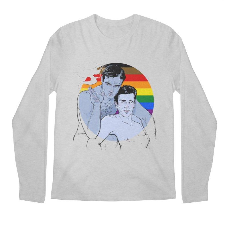 Dean + Brando Pride Men's Regular Longsleeve T-Shirt by Ego Rodriguez