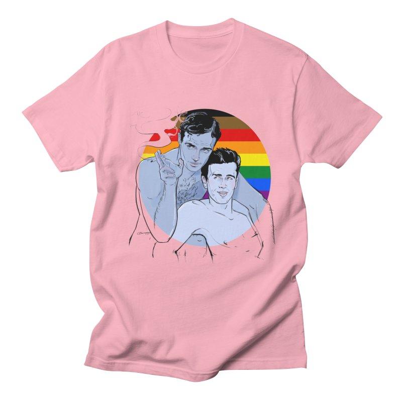 Dean + Brando Pride Women's Regular Unisex T-Shirt by Ego Rodriguez