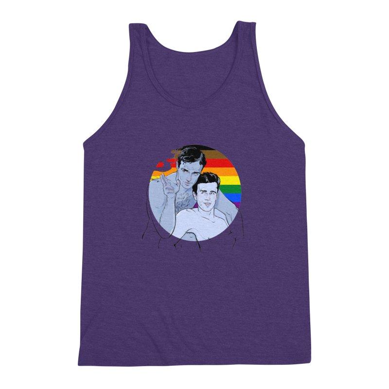 Dean + Brando Pride Men's Triblend Tank by Ego Rodriguez