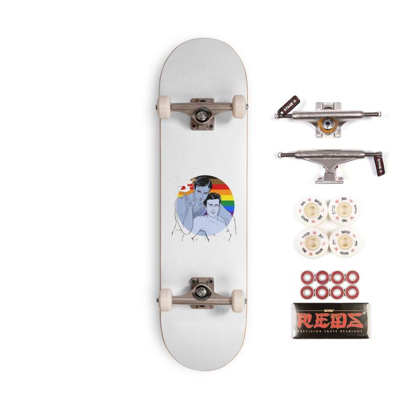 Dean + Brando Pride Accessories Complete - Pro Skateboard by Ego Rodriguez