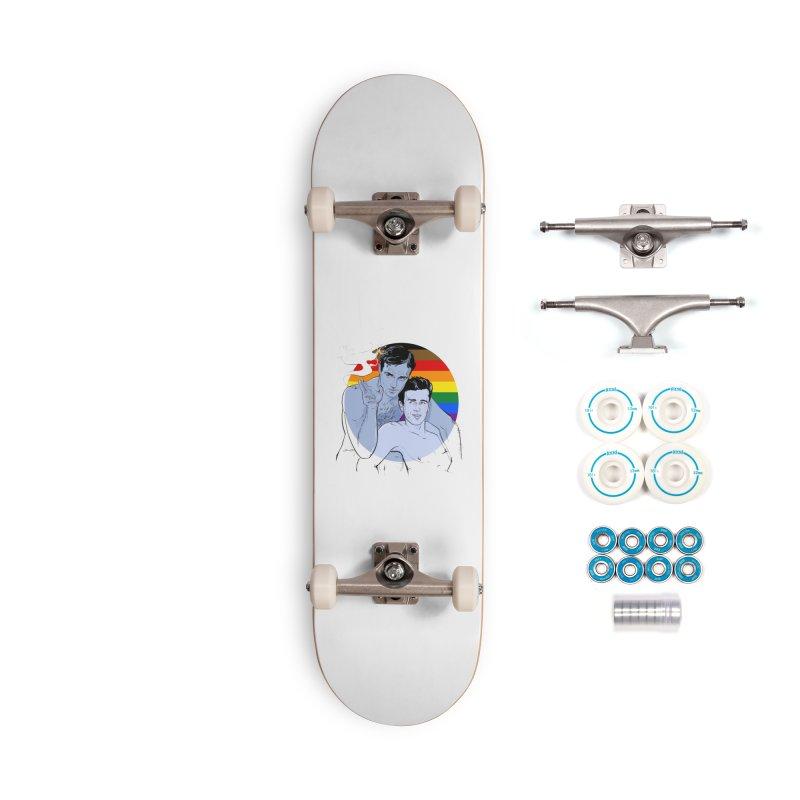 Dean + Brando Pride Accessories Complete - Basic Skateboard by Ego Rodriguez