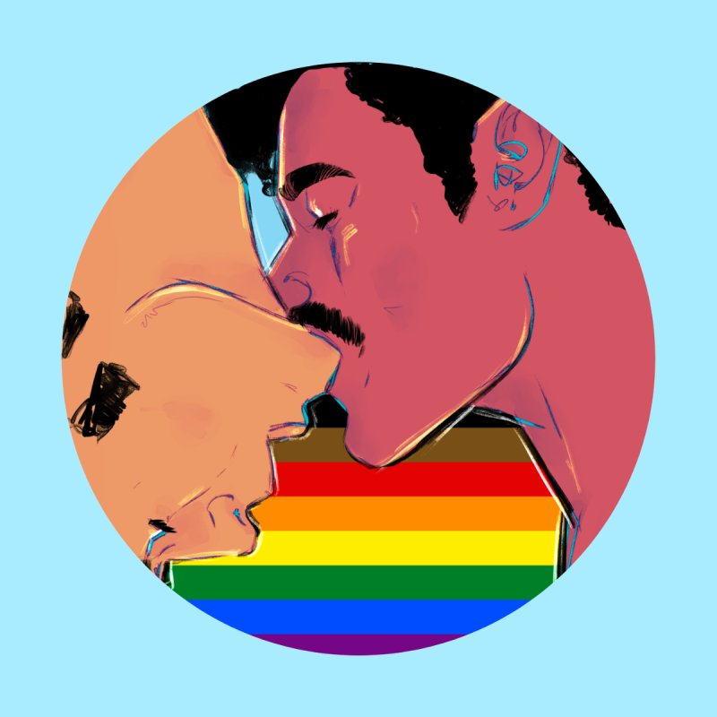 One Love Pride Men's T-Shirt by Ego Rodriguez