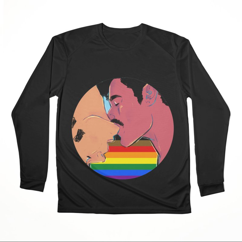 One Love Pride Women's Performance Unisex Longsleeve T-Shirt by Ego Rodriguez