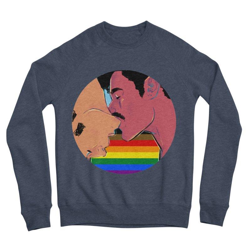 One Love Pride Men's Sponge Fleece Sweatshirt by Ego Rodriguez