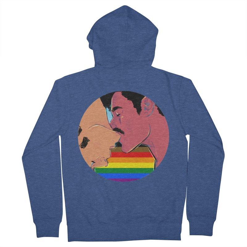 One Love Pride Men's Zip-Up Hoody by Ego Rodriguez