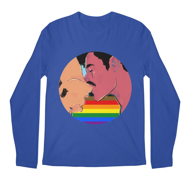 One Love Pride Men's Regular Longsleeve T-Shirt by Ego Rodriguez