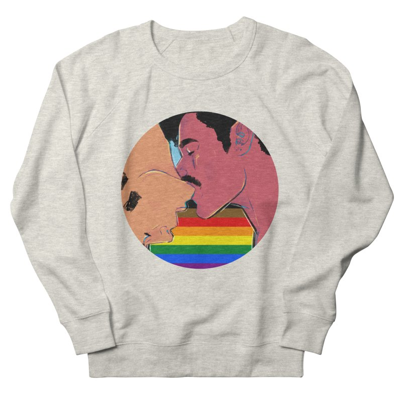 One Love Pride Men's French Terry Sweatshirt by Ego Rodriguez