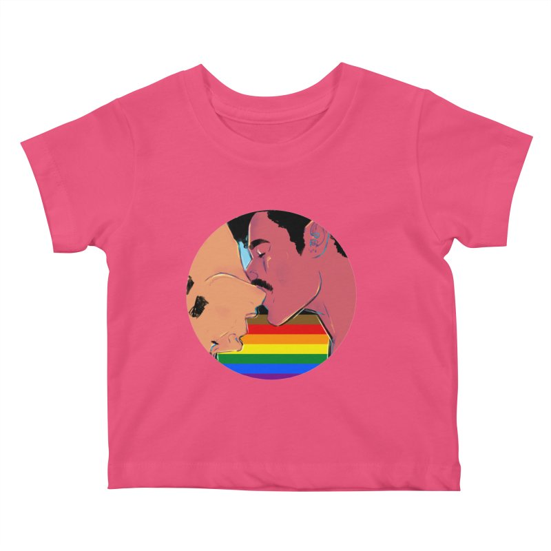 One Love Pride Kids Baby T-Shirt by Ego Rodriguez