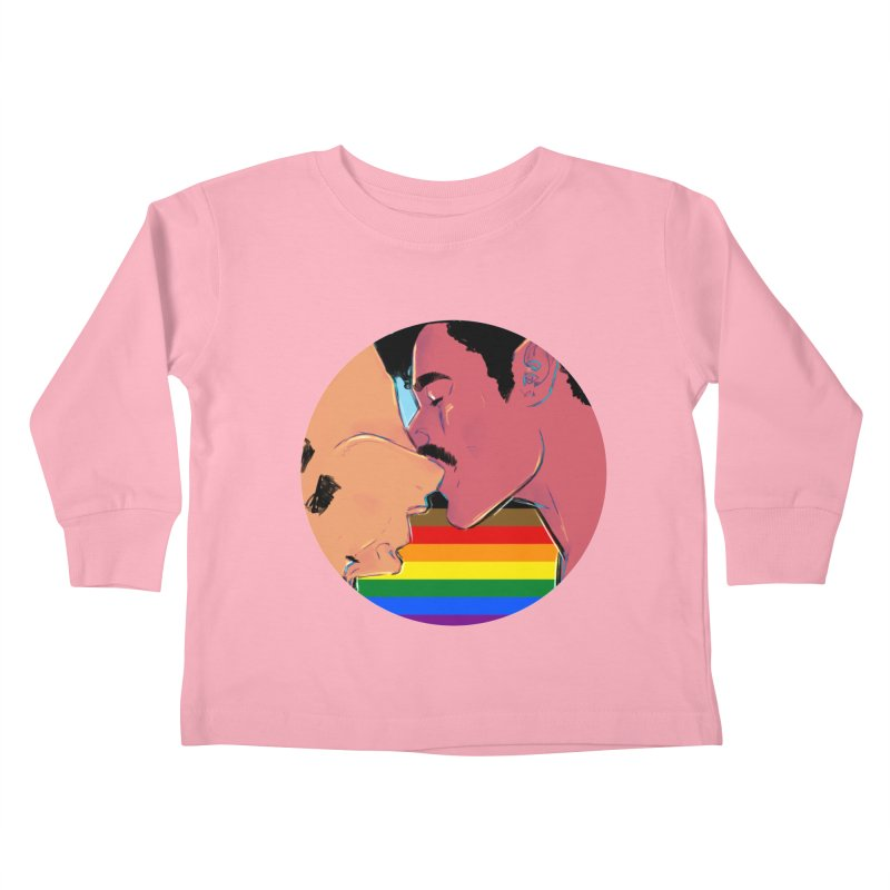 One Love Pride Kids Toddler Longsleeve T-Shirt by Ego Rodriguez