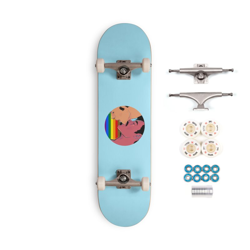 One Love Pride Accessories Complete - Premium Skateboard by Ego Rodriguez