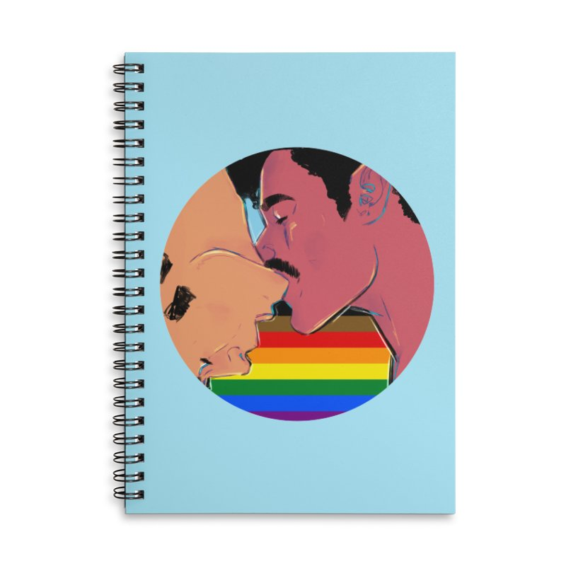 One Love Pride Accessories Notebook by Ego Rodriguez