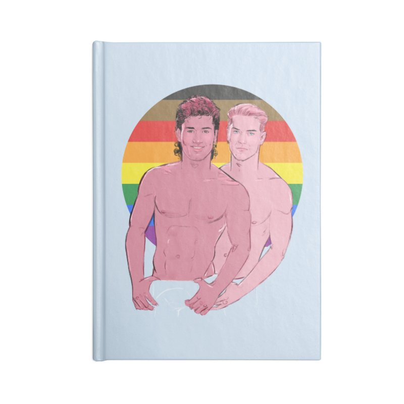 Zach + Slater PRIDE Accessories Notebook by Ego Rodriguez