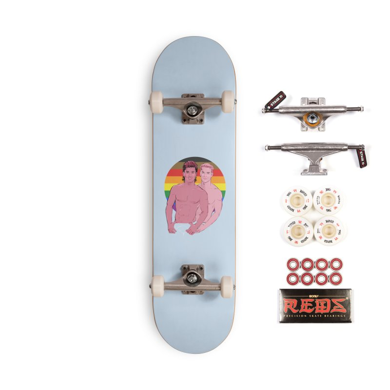 Zach + Slater PRIDE Accessories Complete - Pro Skateboard by Ego Rodriguez