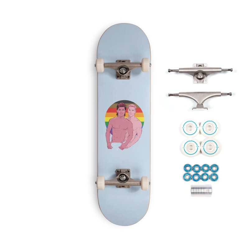 Zach + Slater PRIDE Accessories Complete - Basic Skateboard by Ego Rodriguez