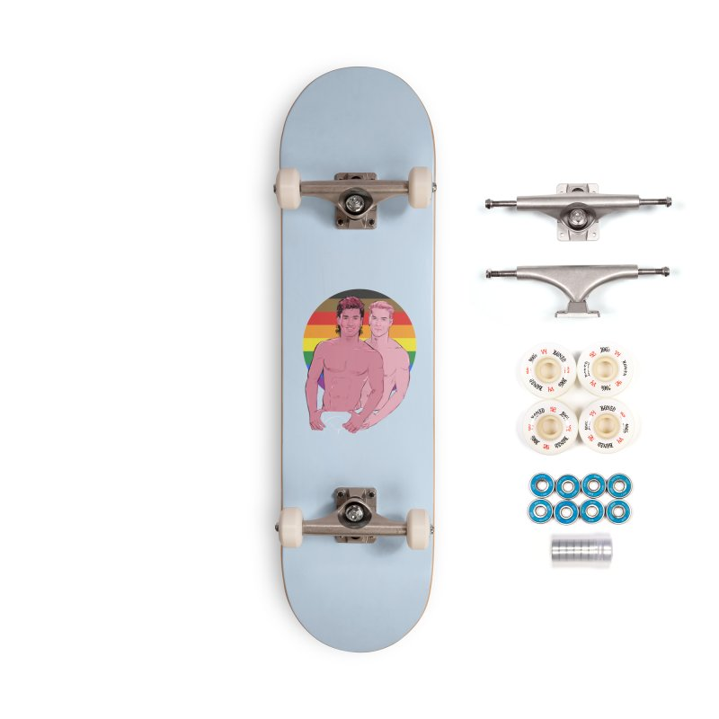 Zach + Slater PRIDE Accessories Complete - Premium Skateboard by Ego Rodriguez