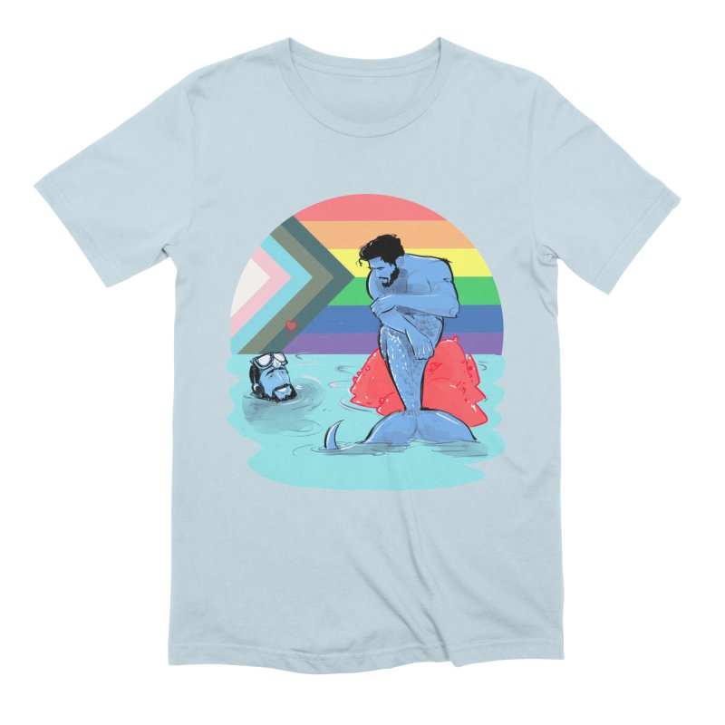 Mer Love Pride Men's T-Shirt by Ego Rodriguez