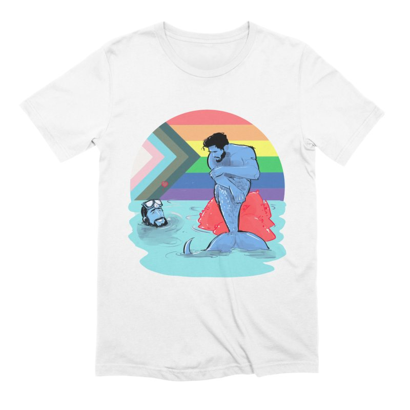 Mer Love Pride Men's T-Shirt by Ego Rodriguez