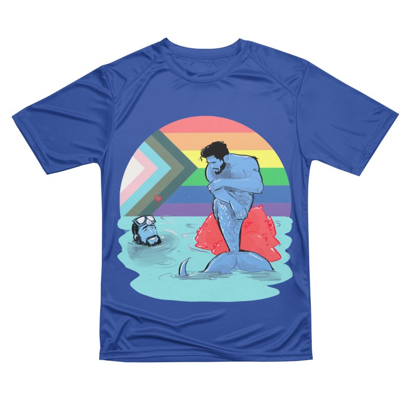 Mer Love Pride Men's Performance T-Shirt by Ego Rodriguez