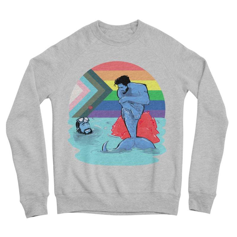 Mer Love Pride Men's Sponge Fleece Sweatshirt by Ego Rodriguez