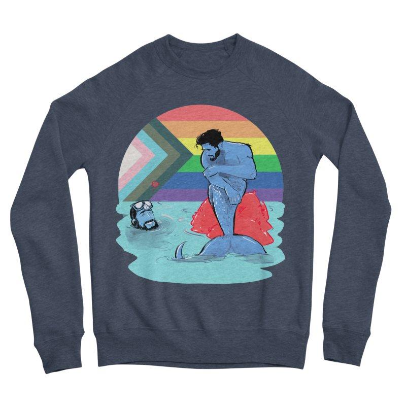 Mer Love Pride Women's Sponge Fleece Sweatshirt by Ego Rodriguez