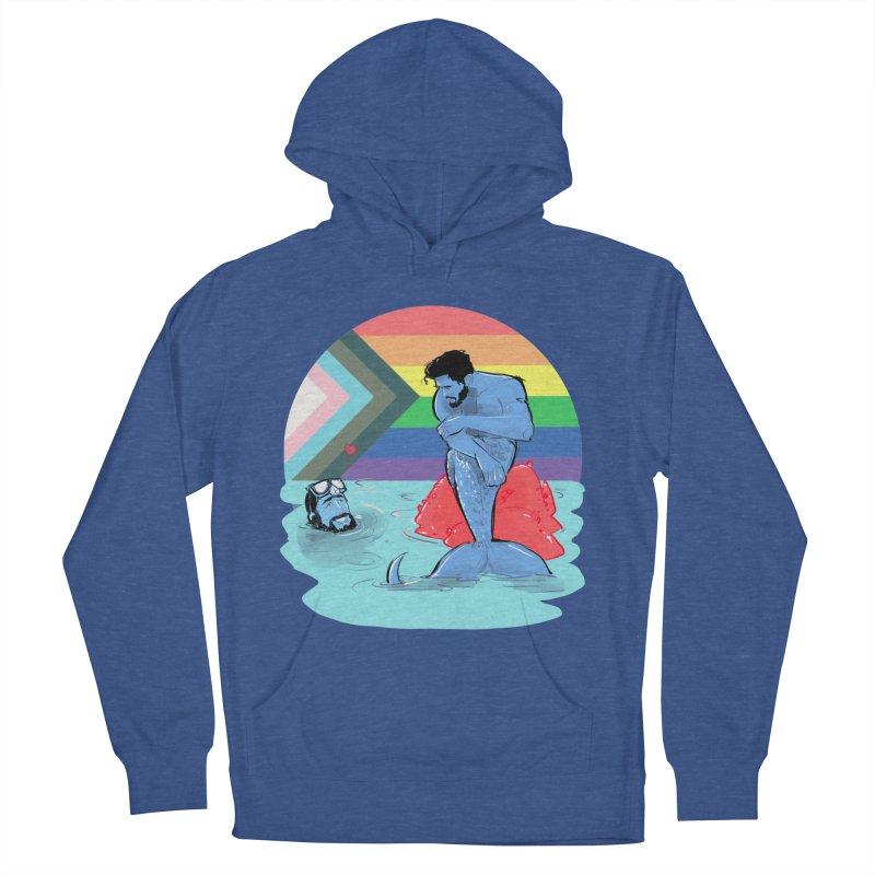 Mer Love Pride Men's Pullover Hoody by Ego Rodriguez