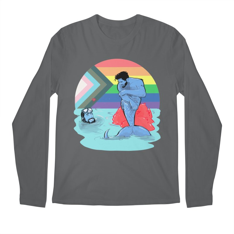 Mer Love Pride Men's Longsleeve T-Shirt by Ego Rodriguez