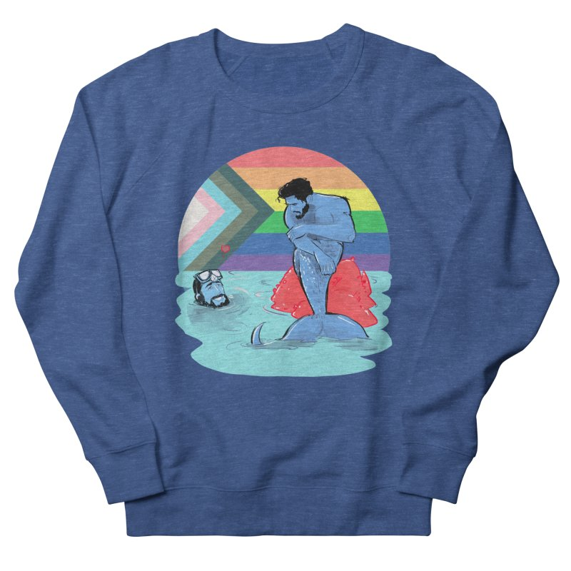 Mer Love Pride Men's Sweatshirt by Ego Rodriguez