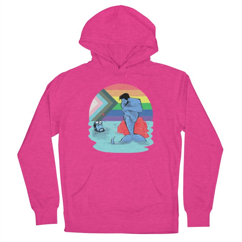 Mer Love Pride Women's French Terry Pullover Hoody by Ego Rodriguez