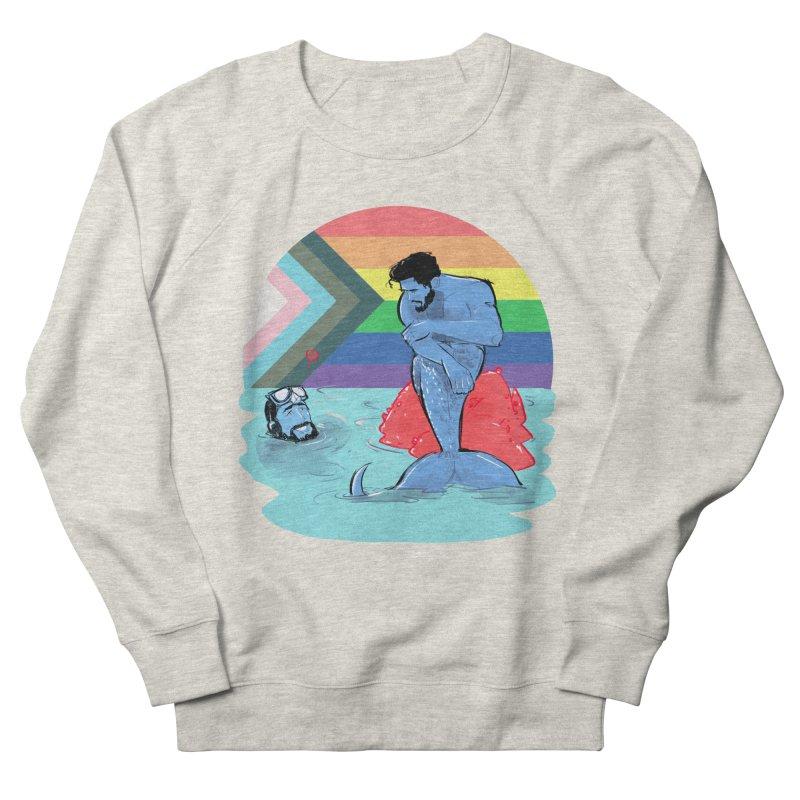 Mer Love Pride Men's French Terry Sweatshirt by Ego Rodriguez