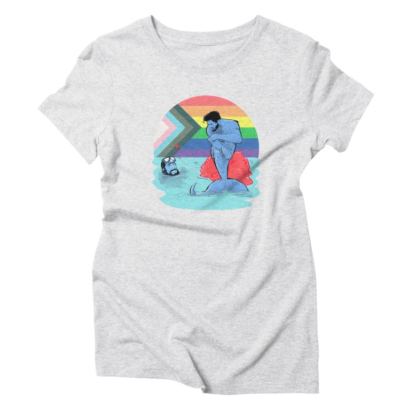 Mer Love Pride Women's T-Shirt by Ego Rodriguez