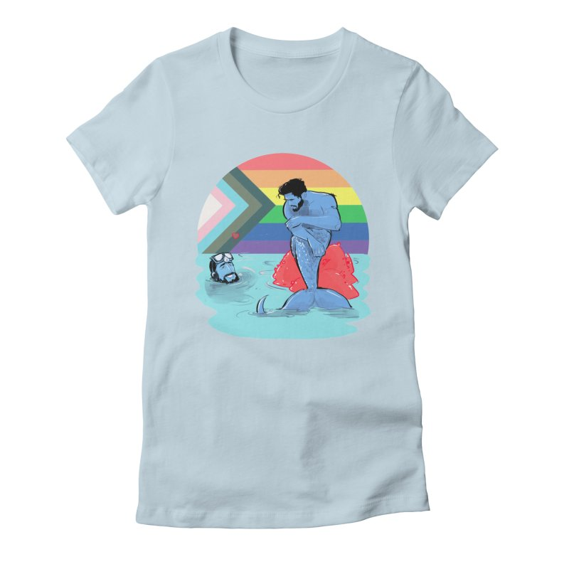 Mer Love Pride Women's T-Shirt by Ego Rodriguez