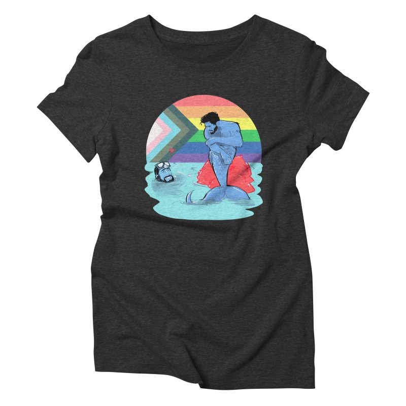 Mer Love Pride Women's Triblend T-Shirt by Ego Rodriguez
