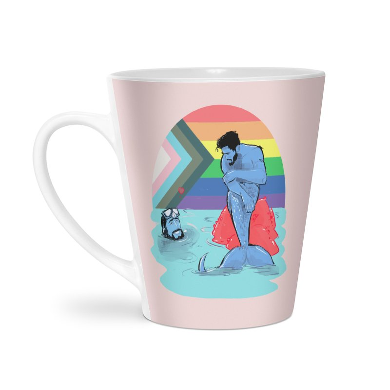 Mer Love Pride Accessories Latte Mug by Ego Rodriguez