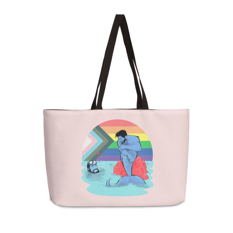 Mer Love Pride Accessories Weekender Bag Bag by Ego Rodriguez