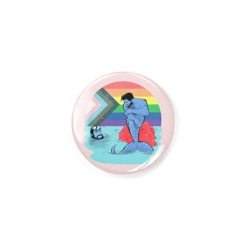 Mer Love Pride Accessories Button by Ego Rodriguez