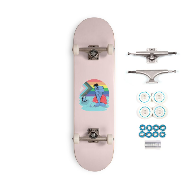 Mer Love Pride Accessories Complete - Basic Skateboard by Ego Rodriguez
