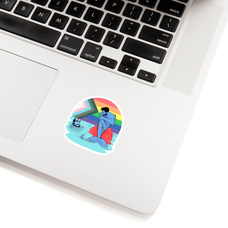 Mer Love Pride Accessories Sticker by Ego Rodriguez