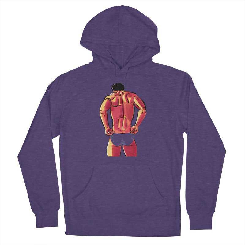 Adjusting Women's French Terry Pullover Hoody by Ego Rodriguez