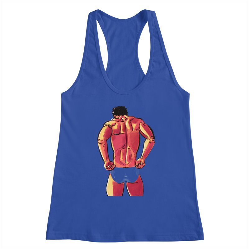 Adjusting Women's Racerback Tank by Ego Rodriguez