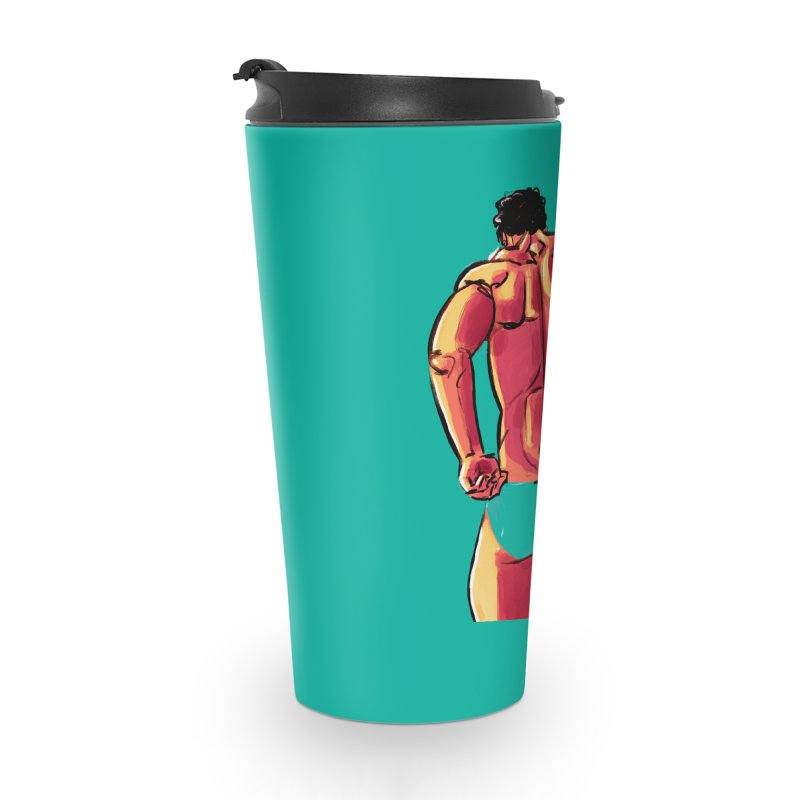 Adjusting Accessories Travel Mug by Ego Rodriguez