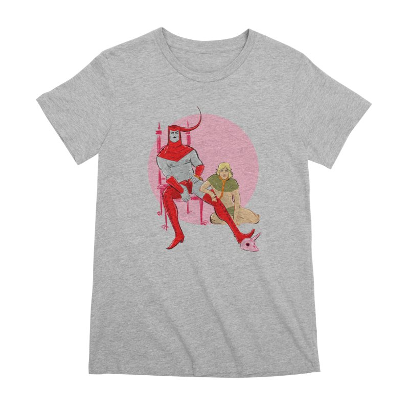 Dungeons Women's Premium T-Shirt by Ego Rodriguez