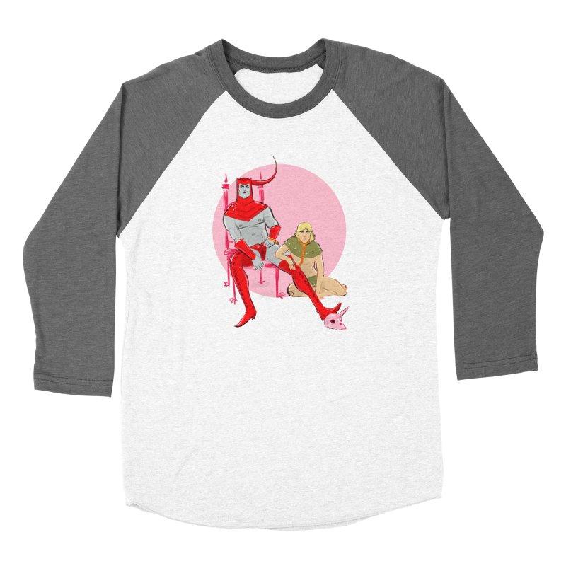 Dungeons Women's Baseball Triblend Longsleeve T-Shirt by Ego Rodriguez