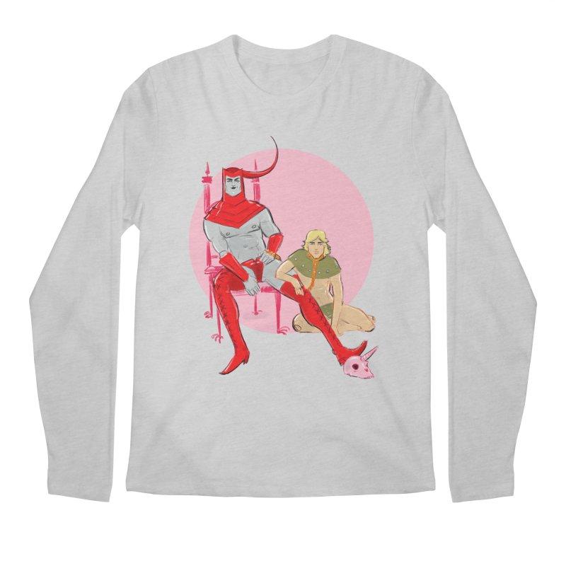 Dungeons Men's Regular Longsleeve T-Shirt by Ego Rodriguez